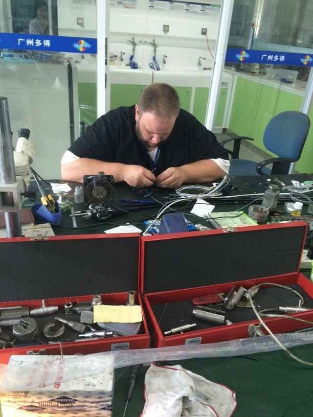 Flexible Endoscope Repair Training for American