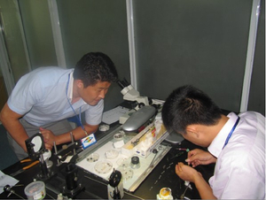 One on One flexible endoscope repair training